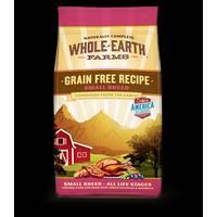 Whole Earth Farms 4 lb Grain Free Small Breed Chicken & Turkey Recipe Dog Food from Blain's Farm and Fleet