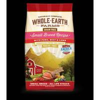 Whole Earth Farms 12 lb Grain Free Small Breed Pork, Beef & Lamb Dog Food from Blain's Farm and Fleet
