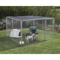 Stephens Pipe & Steel Sunblock Kennel Top from Blain's Farm and Fleet