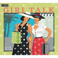 Lang Girl Talk 2018 Wall Calendar from Blain's Farm and Fleet