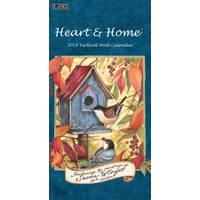 Lang Heart & Home 2018 Vertical Wall Calendar from Blain's Farm and Fleet