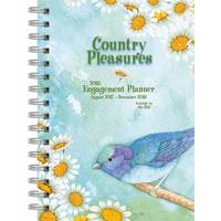 Lang WSBL 2018 Country Pleasures Spiral Engagement Planner from Blain's Farm and Fleet