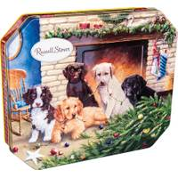 Russell Stover Holiday Dog Tin of Assorted Chocolates from Blain's Farm and Fleet