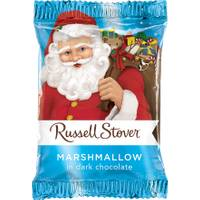 Russell Stover Dark Chocolate Marshmallow Santa from Blain's Farm and Fleet