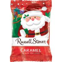 Russell Stover Milk Chocolate Caramel Santa from Blain's Farm and Fleet