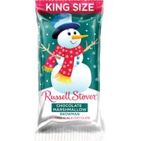 Russell Stover King Size Chocolate Marshmallow Snowman from Blain's Farm and Fleet