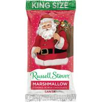 Russell Stover King Size Milk Chocolate Santa from Blain's Farm and Fleet