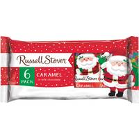 Russell Stover Milk Chocolate Caramel - 6 Pack from Blain's Farm and Fleet