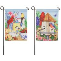 Evergreen Enterprises Summer Splendor Garden Suede Flag from Blain's Farm and Fleet