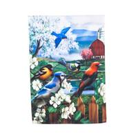 Evergreen Enterprises Spring Gathering Garden Satin Flag from Blain's Farm and Fleet
