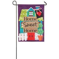 Evergreen Enterprises Home Sweet Home Garden Linen Flag from Blain's Farm and Fleet