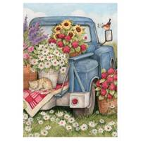 BreezeArt Flower Pickin Time Garden Flag from Blain's Farm and Fleet