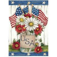 BreezeArt USA Mason Jar Garden Flag from Blain's Farm and Fleet