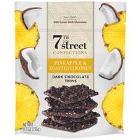 7th Street Confections Pineapple & Toasted Coconut Dark Chocolate Thins from Blain's Farm and Fleet
