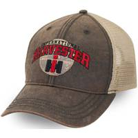 Case IH Men's Oil Cloth Mesh Back Cap from Blain's Farm and Fleet