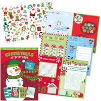 IG Design Group Christmas Snowman Sticker Activity Book Assortment from Blain's Farm and Fleet