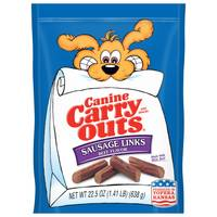 Canine Carry Outs 25 oz Sausage Links Dog Treats from Blain's Farm and Fleet