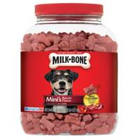 Milk-Bone Mini's 36 oz Bacon Flavor Dog Treats from Blain's Farm and Fleet