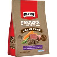 Milk-Bone Farmer's Medley 12 oz Grain-Free Lamb Dog Treats from Blain's Farm and Fleet
