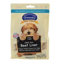 Stewart 100% Pure Beef Liver Freeze Dried Treats for Dogs from Blain's Farm and Fleet