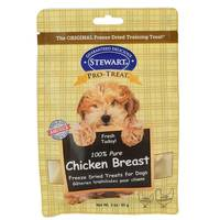 Stewart 100% Pure Chicken Breast Freeze Dried Treats for Dogs from Blain's Farm and Fleet