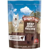 Purina 11 oz Waggin Train Beef Jerky from Blain's Farm and Fleet