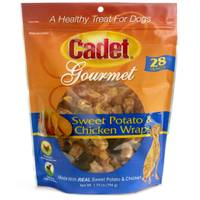 Cadet 28 oz Chicken & Sweet Potato Wraps Dog Treats from Blain's Farm and Fleet