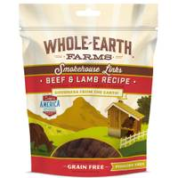 Whole Earth Farms 5 oz Beef & Lamb Links Dog Treats from Blain's Farm and Fleet