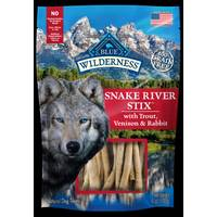 Blue Buffalo Wilderness 6 oz Snake River Grill Stix Dog Treats from Blain's Farm and Fleet