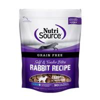 NutriSource 6 oz Grain Free Rabbit Bites from Blain's Farm and Fleet