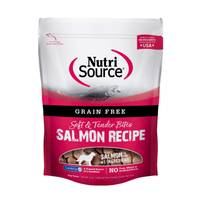 NutriSource 6 oz Grain Free Salmon Bites from Blain's Farm and Fleet