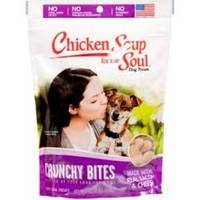 Chicken Soup for The Soul 12 oz. Crunchy Bites Bacon & Cheese Dog Treats from Blain's Farm and Fleet