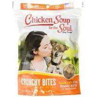 Chicken Soup for The Soul 12 oz. Crunchy Bites Peanut Butter Dog Treats from Blain's Farm and Fleet