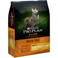 Purina Pro Plan Savor Grain Free Adult Shredded Turkey & Chicken Formula Dog Food from Blain's Farm and Fleet