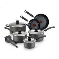 T-Fal 12-Piece Signature Hard Anodized Cook Set from Blain's Farm and Fleet