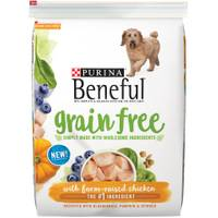 Beneful 12.5 lb Beneful Grain Free Farm Raised Chicken Dog Food from Blain's Farm and Fleet