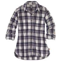 Carhartt Women's Fairview Plaid Shirt Elm from Blain's Farm and Fleet