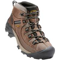KEEN Men's Shitake & Brindle Targhee II Waterproof Mid Hiking Boots from Blain's Farm and Fleet