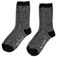 Columbia Women's 2-Pack Super Soft Ribbed Crew Socks from Blain's Farm and Fleet