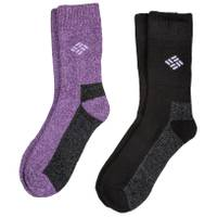 Columbia Women's Crew Socks 2-Pack from Blain's Farm and Fleet