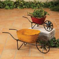Gerson International Large Antique Wheelbarrow from Blain's Farm and Fleet