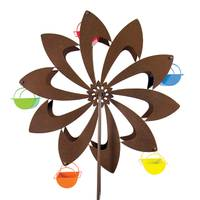 Exhart Bronze Pinwheel Ferris Feeder from Blain's Farm and Fleet