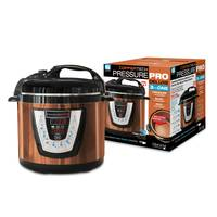 As Seen On TV Copper Tech Pressure Pro Deluxe Pressure Cooker from Blain's Farm and Fleet