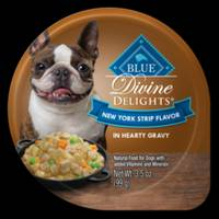 Blue Buffalo Life Protection 3.5oz Divine Delights New York Strip Steak in Gravy from Blain's Farm and Fleet
