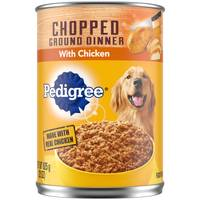 Pedigree 22 oz Chopped Ground Dinner Chicken Dog Food from Blain's Farm and Fleet