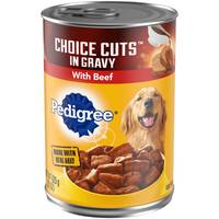 Pedigree 22 oz Choice Cuts Beef Dog Food from Blain's Farm and Fleet