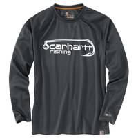 Carhartt Force Men's Shadow Long Sleeve Hook Tee from Blain's Farm and Fleet