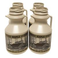 Tap My Trees 1/2 Pint Plastic Maple Syrup Jug 4-Pack from Blain's Farm and Fleet