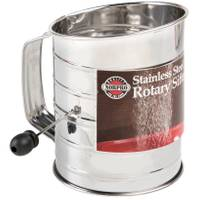 Norpro Stainless Steel Rotary Flour Sifter from Blain's Farm and Fleet