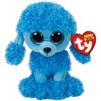 Ty Beanie Boo Mandy the Blue Poodle from Blain's Farm and Fleet